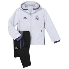 Real Madrid Training Presentation Suit - White - Infants: Real Madrid Training Presentation Suit - -… #RealMadridShop #RealMadridStore