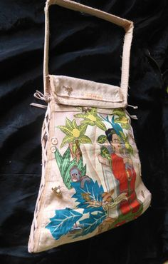 Sac Frida Kahlo made in Caen par Midiaquatorzeheures sur Etsy, $165,00