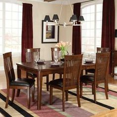 Nebraska Furniture Mart – Standard 7-Piece Dining Set