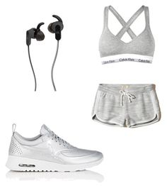Sport 😍 by shizukami on Polyvore featuring polyvore, fashion, style, Hollister Co., Calvin Klein, NIKE, JBL and clothing