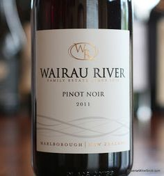 Wairau River Marlborough Pinot Noir 2011 - Why Yes. More Pinot Noir for the 99! http://www.reversewinesnob.com/2013/09/wairau-river-marlborough-pinot-noir.html
