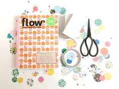 It's Paper Lovers Week on Flowmagazine.com! 4 tutorials on what to do with all the lovely papers in the Flow Book for Paper Lovers.