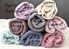 5 feet long swaddle wrap + FREE headtie Aged to Perfection Cotton Gauze Swaddle Blanket Newborn Photo Prop Cheesecloth Wrap 5 feet long ting...