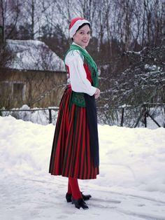 Finnish regional / national / traditional costume Folk Costume, Costumes, Regional, Finland, Mythology, Needlework, Anna, Traditional, Clothes For Women
