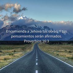 Proverbios 16:3