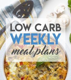 weekly keto weight loss meal plans