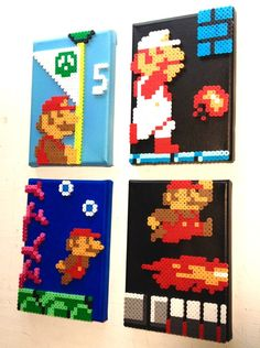 drag to resize or shift+drag to move Hamma Beads 3d, Pearler Beads, Fuse Beads, Perler Bead Templates, Diy Perler Beads, Hama Beads Patterns, Beading Patterns, Mario Crafts, Minecraft Beads