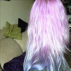#Pastell #Flieder #Hair   #Lilahair  #unicorn Hair