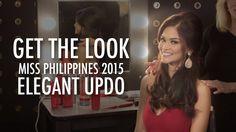 Get the Look | Miss Philippines 2015 | Elegant Updo