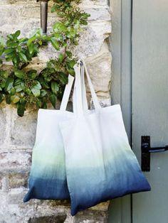Dip-dye a plain bag