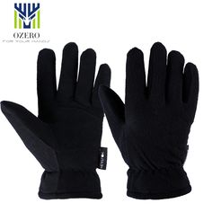 New Winter Ski Gloves Outdoor Sport Warm Gloves Deerskin waterproof Below Zero Skiing Cycling For Men Women 9009 #men, #hats, #watches, #belts, #fashion, #style