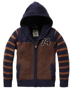 scotch and soda Mens Winter Sweaters, Knit Baby Sweaters, Boys Sweaters, Men Sweater, Oliver Spencer, Sweater Knitting Patterns, Hoodies, Sweatshirts, Baby Boy Outfits