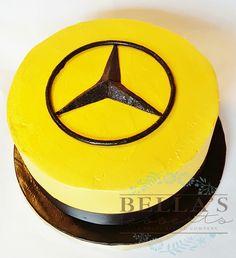 Mercedes Emblem birthday cake by Bella's Desserts