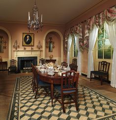 Federal Style Room. Drawing room of the Craig House, Baltimore, Maryland [American] (18.101.1-.4) | Heilbrunn Timeline of Art History | The Metropolitan Museum of Art