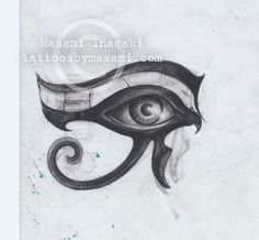 eye of horus tattoo masami