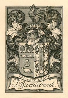 J. Brocklebank by Charles William Sherborn (Aberystwyth University School of Art)