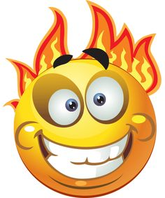 This little fire ball is ideal for sharing on your Facebook timeline.