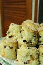 These fruit scones are delightful as a sweet breakfast treat!