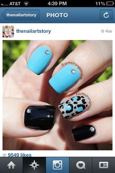 Nail design  - I luv this!