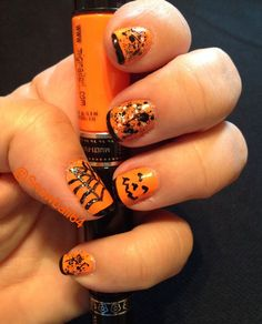 Halloween Nails using Migi Nail Art