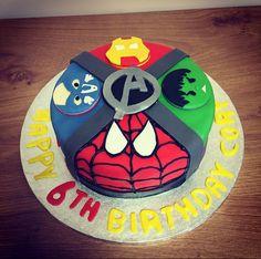 Avengers Cake Kokos Cupcakes, Avenger Cake, Birthday Cake, Party, Avengers, Desserts, David, Food, Kids
