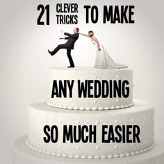 21 Clever Tricks To Make Any Wedding So Much Easier