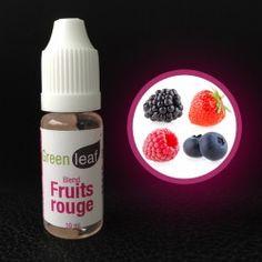 e-liquide goût Fruit Rouge