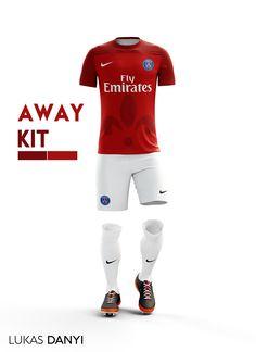 I designed football kits for Paris Saint-Germain for the upcoming season 16  17 2627743fef0c0