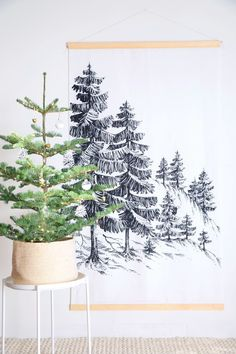3 Genius Ways to Fit a Christmas Tree into Small, Tiny or Even Micro Spaces