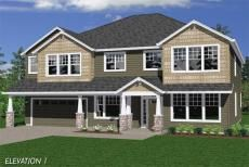 The Redmond from Pacific Lifestyle Homes/Garrette Custom Homes.  3750 sf, 4-6 beds, 2 story