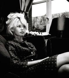 Brigitte Bardot, 1962 | timeless beauty | iconic | black & white photography | vintage | 1960s