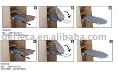Foshan Gefieca Metal Products Co. Wooden Ironing Board, Ikea Closet, Shoe Rack, Laundry Room, Drawers, Cabinet, Storage, Metal, Stuff To Buy