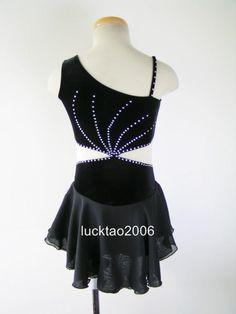 Gorgeous Figure Skating Dress Ice Skating Dress #6737
