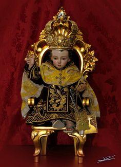 Niño Jesús de Nuestra Señora del Carmen Coronada.