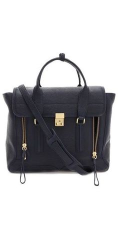 3.1 Phillip Lim Pashli Satchel - white bags online, weekend bag, bags and all *ad