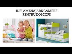 IDEI DE AMENAJARE CAMERE PENTRU 2 COPII - sfaturi utile pentru parinti - YouTube Toy Chest, Storage Chest, Toddler Bed, Parenting, Cabinet, Furniture, Youtube, Home Decor, Child Bed