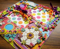 The fair scrapbook page