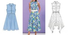 Wondering what to sew next? Shirtdresses are having a moment this season. Designers from Oscar de la Renta to Madewell included shirtdresses in their Spring 2016 collections, and they're popping up...
