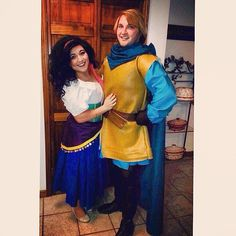 Esmeralda and Phoebus inspired Disney costume to try this Halloween