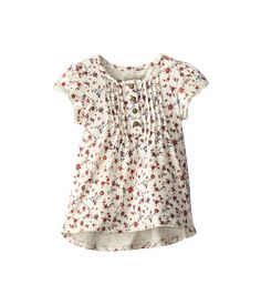 Lucky Brand Kids Nadia Pintuck Tunic (Toddler) Antique White - Zappos.com Free Shipping BOTH Ways
