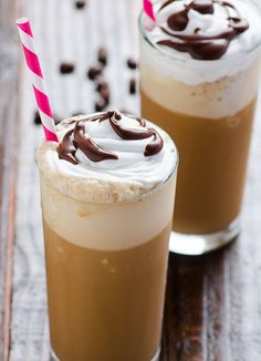 Clean Eating Frappuccino Recipe -- Sweet and delicious treat you are used to minus calories and GMOs.