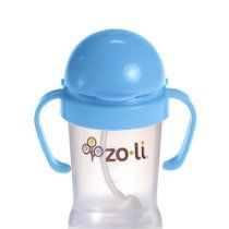ZoLi Bot Straw Sippy Cup Blue
