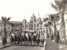 A morning ride with the Los Angeles Riding Academy, which opened its second branch at The Beverly Hills Hotel Beverly Hills Hotel, The Beverly, Garden Of Allah, Dorchester Collection, Visit California, Southern California, Hotel S, Vintage Photographs, Old Pictures