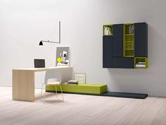 PEOPLE P421 composizione zona living | DOMINO scrittoio | CORA sedia | PEOPLE composition | DOMINO desk | CORA chair | PIANCA | www.pianca.com