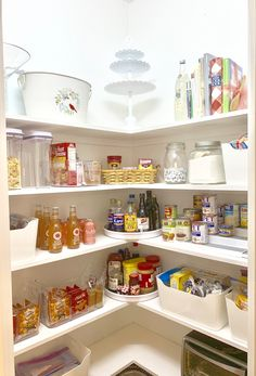 Pantry Makeover done right! Pantry organization is a breeze when you have the right tools! - Own Kitchen Pantry Kitchen Pantry Design, Kitchen Organization Pantry, Kitchen Storage, Home Organization, Organizing Refrigerator, Kitchen Pantries, Pantry Ideas, Pantry Storage, Kitchen Buffet