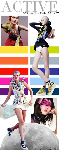 Trend Council Active SS15 Seasonal Colours    #fashion #trend forecast