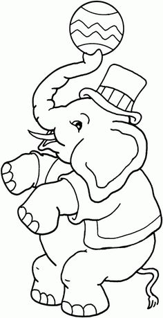 Big Top Carnival Party Activity ~ Coloring Station