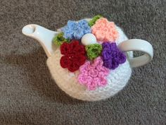 Flowers tea cosy for a small teapot 1 to 2 by SpecialHandmade444