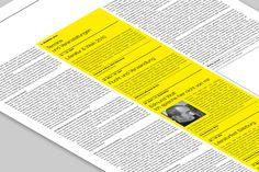 VOLLTEXT - Zeitung für Literatur on the Behance Network