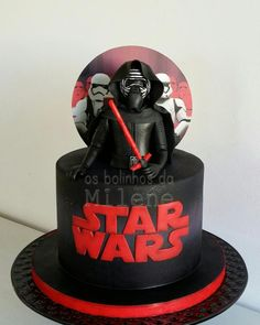Kylo Ren cake - Cake by Milene Habib